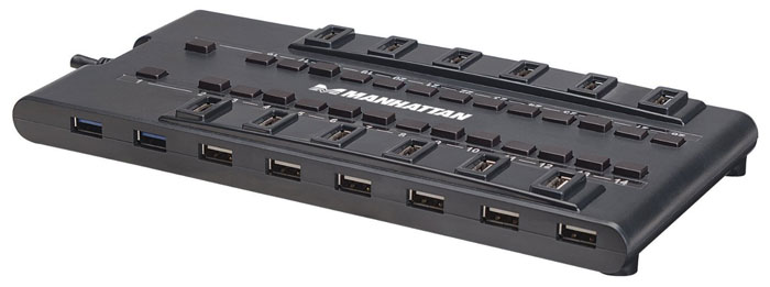 Manhattan 28-port USB Hub